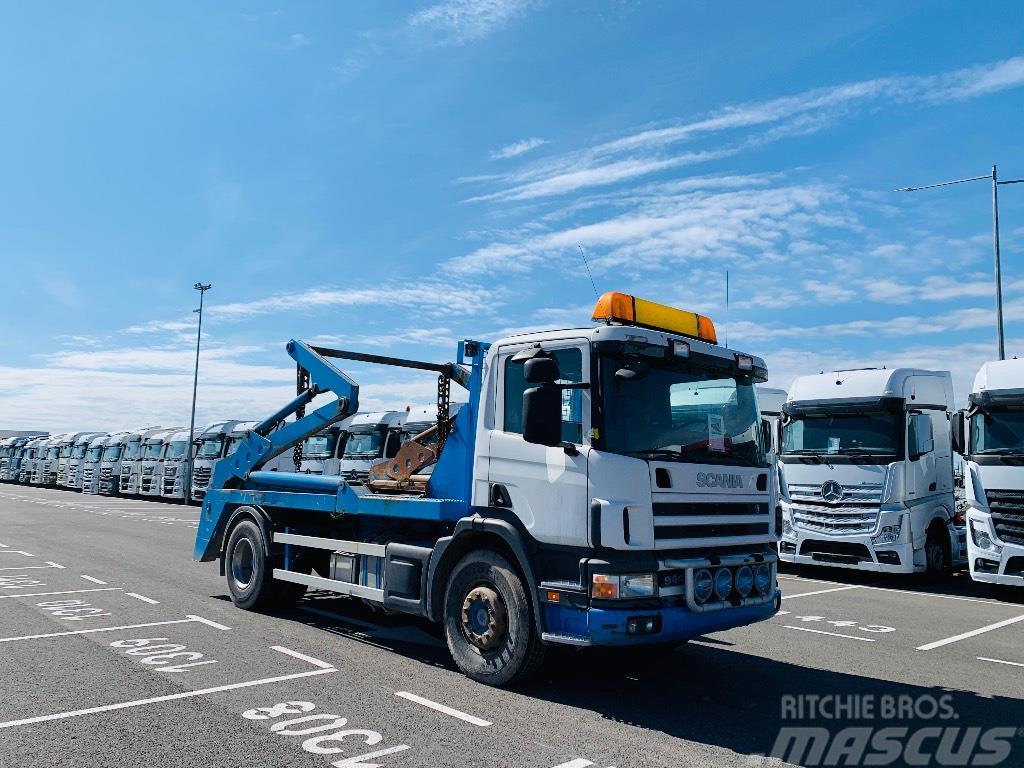 Scania 94 G 260 konteineriu gabenimui