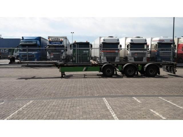 Renders 3 AXLE CONTAINER TRAILER