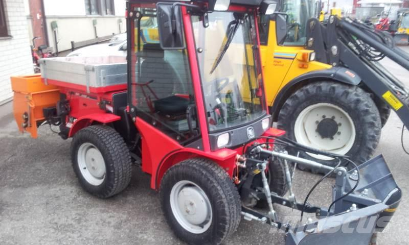 Carraro SP 4400 HST, 155tim! inkl. vikplog+sandspridare