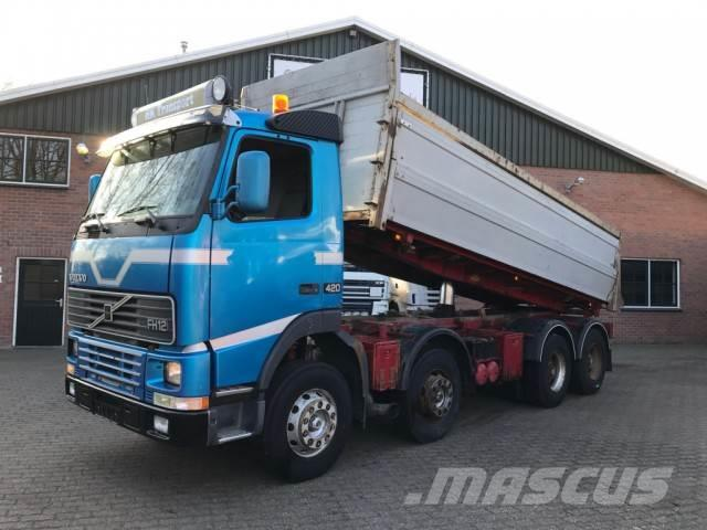 Volvo FH 12 420 8X4 Tipper Full Steel - Hubreduction