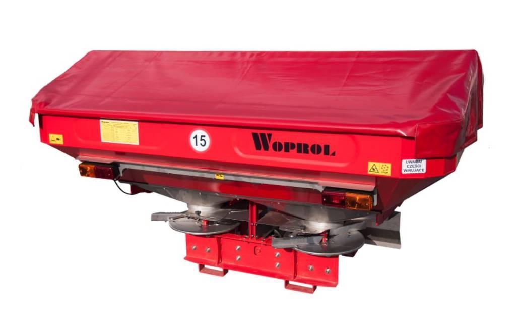 Woprol Junior II Plus 1600 literes műtrágyaszóró