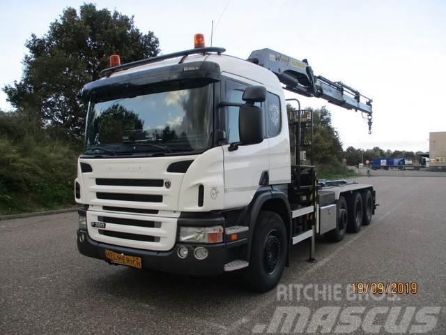 Scania P 380 8X2 EURO 4