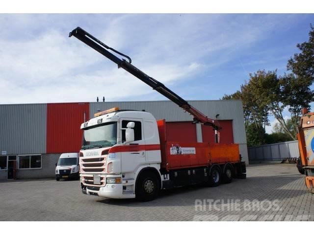 Scania G480 / 6X2 / HMF-CRANE / EURO-5 / 2010