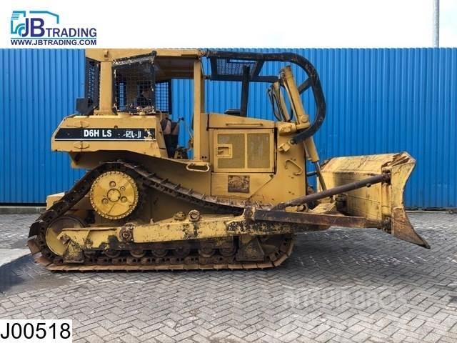 Caterpillar D6H LS Crawler tractor, Dozer, 138 KW, Bucket 3,80