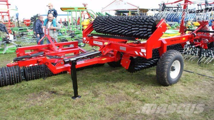 Top-Agro 6m, Heavy Duty Prism Roller - Aggressive 530 mm