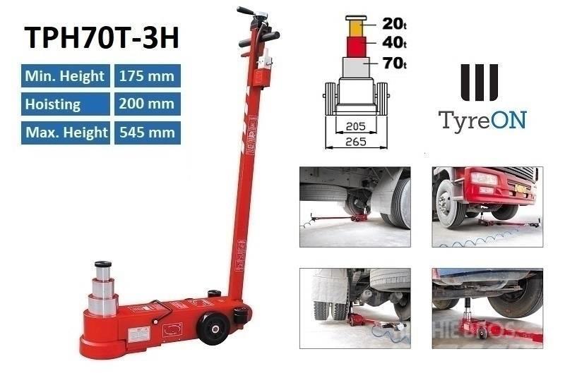 TyreOn TPH70T-3H | Ar-Hydraulic truck jack - 70T