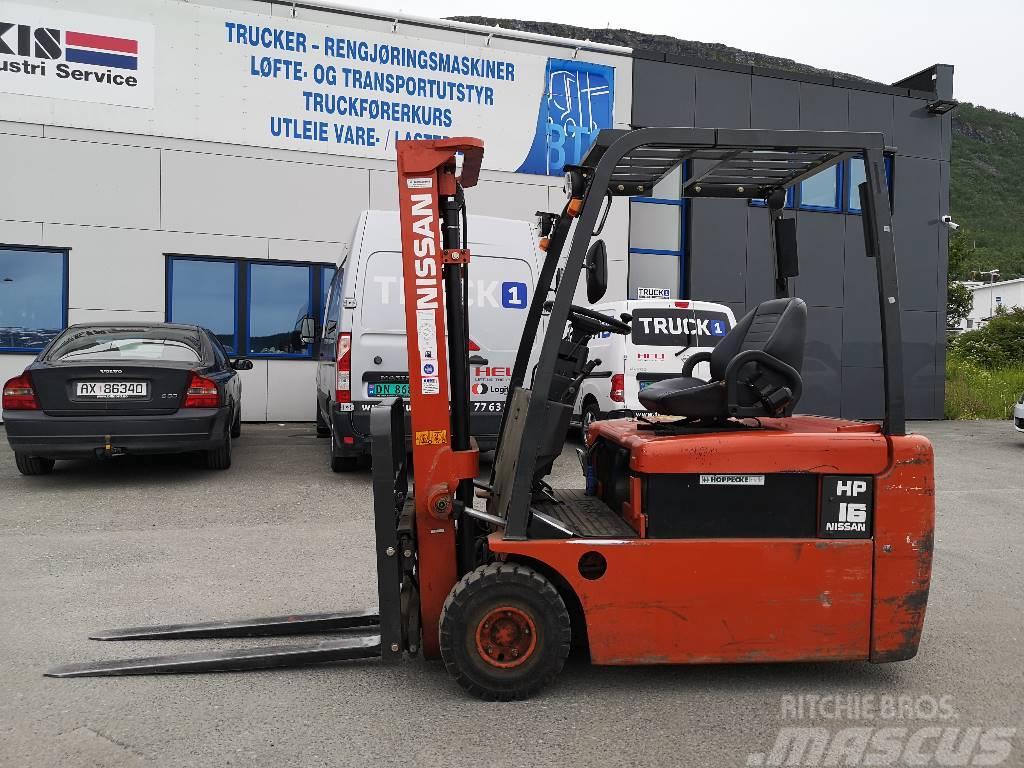 Nissan GN01L16HQ - 1,6 tonns el. truck - 3,0 m LH
