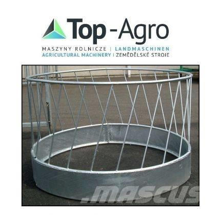 Top-Agro (RRF24) Round feeder, galvanized for 24 sheep, NEW