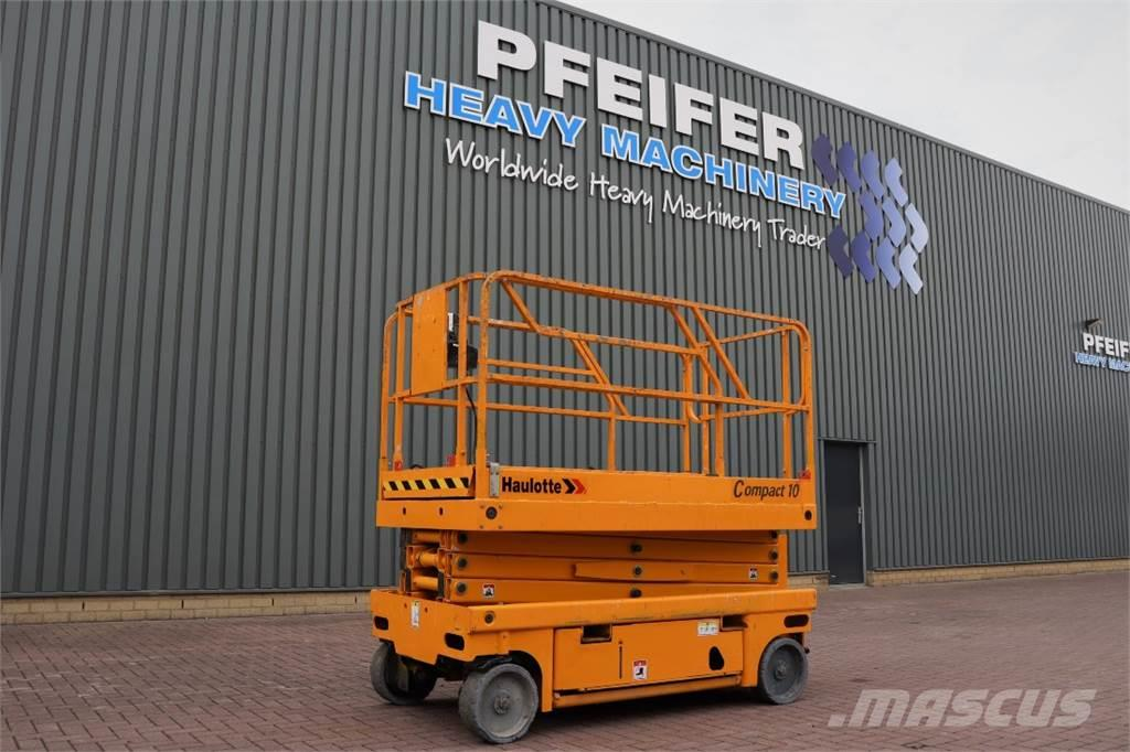 Haulotte COMPACT 10 Electric, 10.2m Working Height, 450kg C