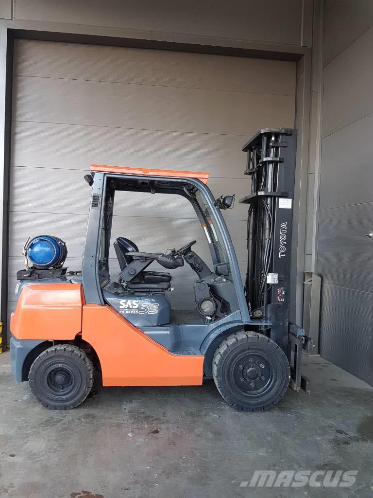 Used Toyota 8FGF30 LPG Forklifts Year: 2008 Price: $15,810
