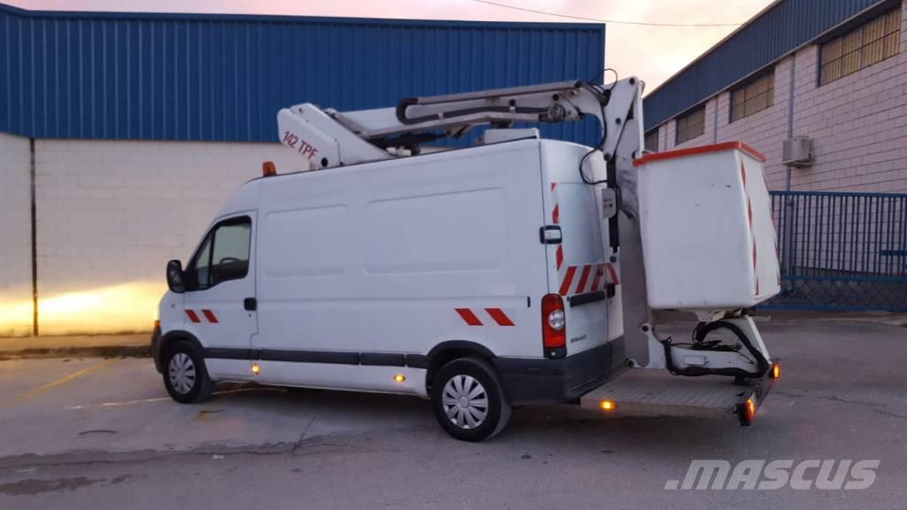 France Elevateur 142tpf 14 mts mounted on renault master boom lift