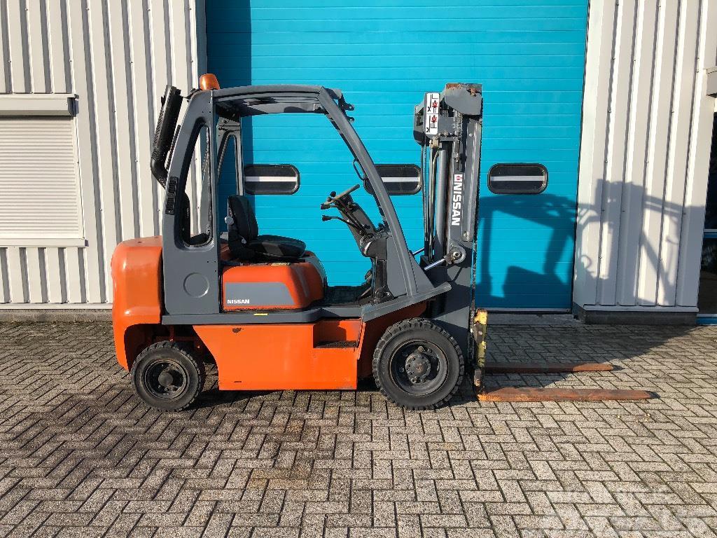 Nissan Heftruck, 2500 kg, Diesel