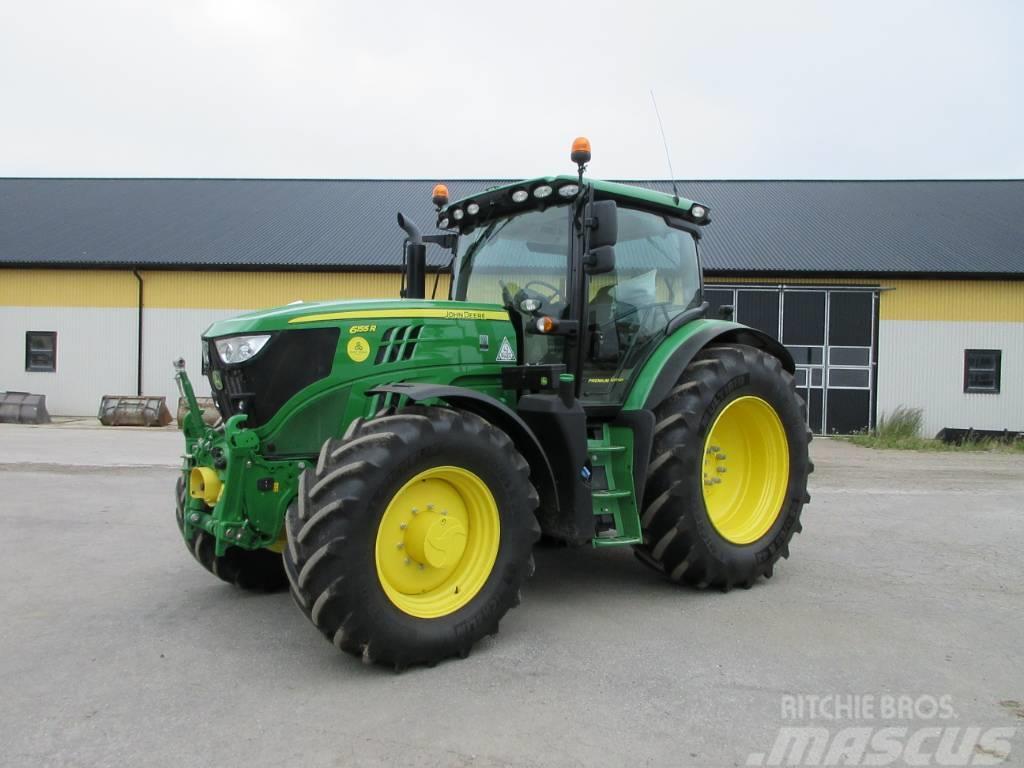 John Deere 6155R traktor, 50 reg, 1000 tim