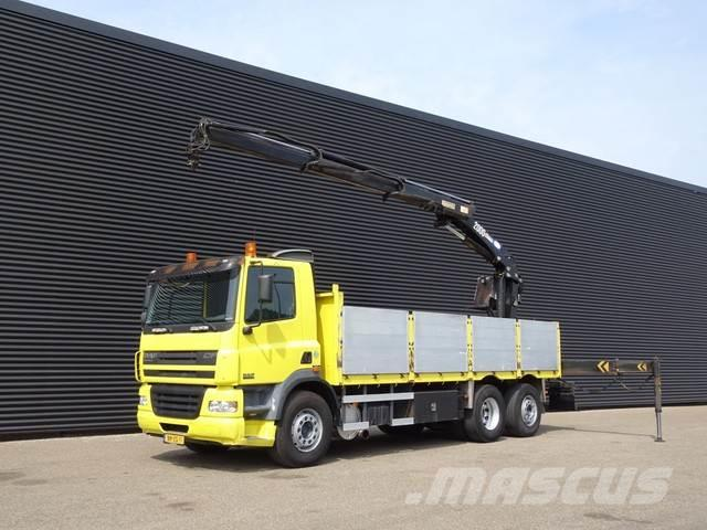 DAF CF 85.380 6x2 / 20 T/M CRANE / KRAN / MANUAL / 345
