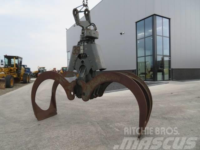 Liebherr Tree clamp with rotator