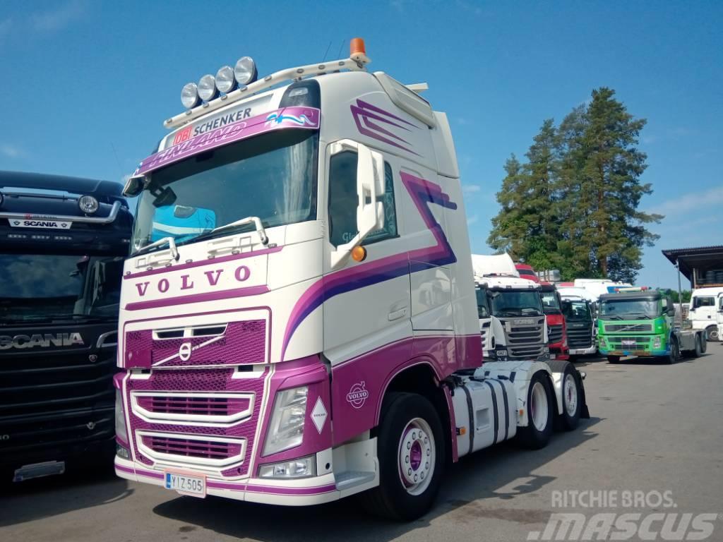 Volvo FH13 6x2 takateliveturi, aj 800tkm