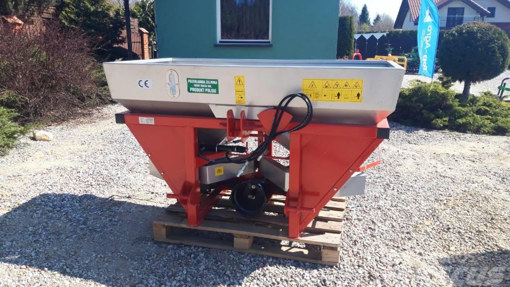 Grass-Rol Twin disc fertilizer spreader 600L, INOX steel