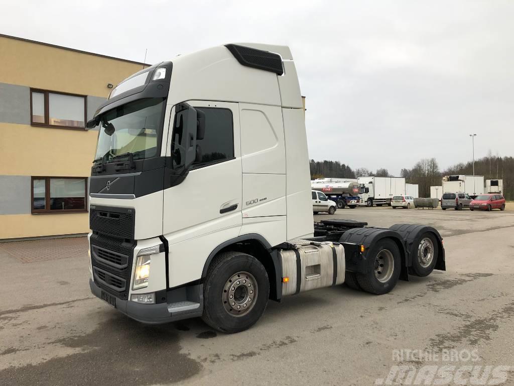 Volvo FH500 6x2 EURO6+PTO