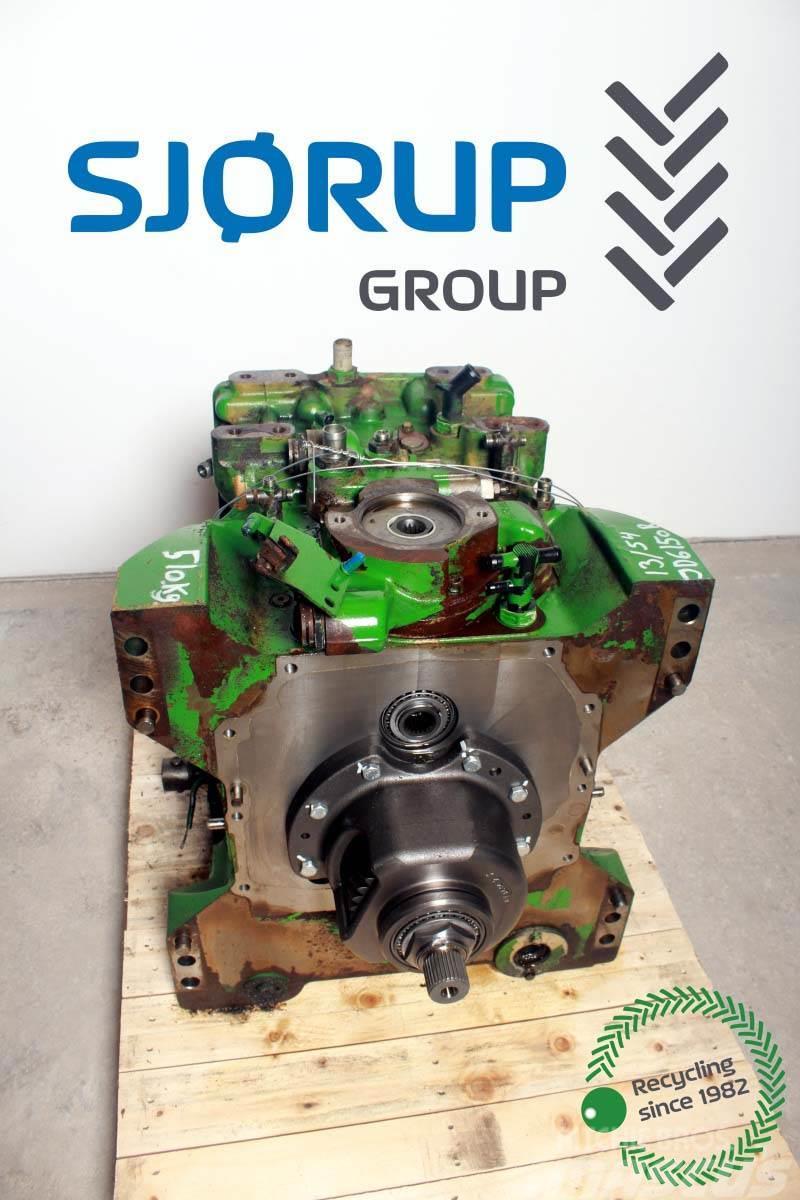 John Deere 6150 R Rear Transmission