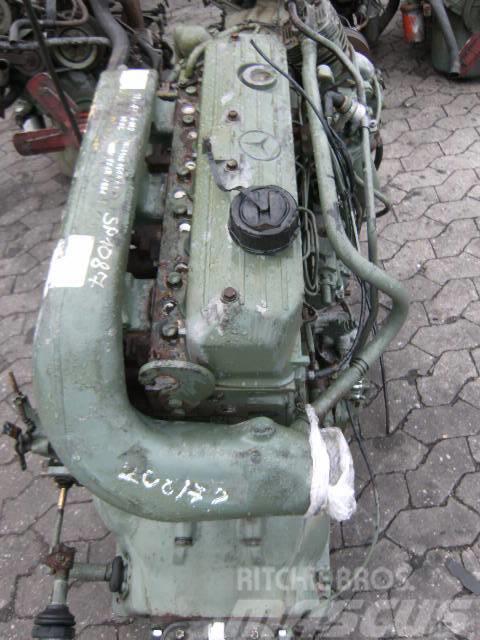 Mercedes-Benz OM366 / OM 366, 1993, Motorer
