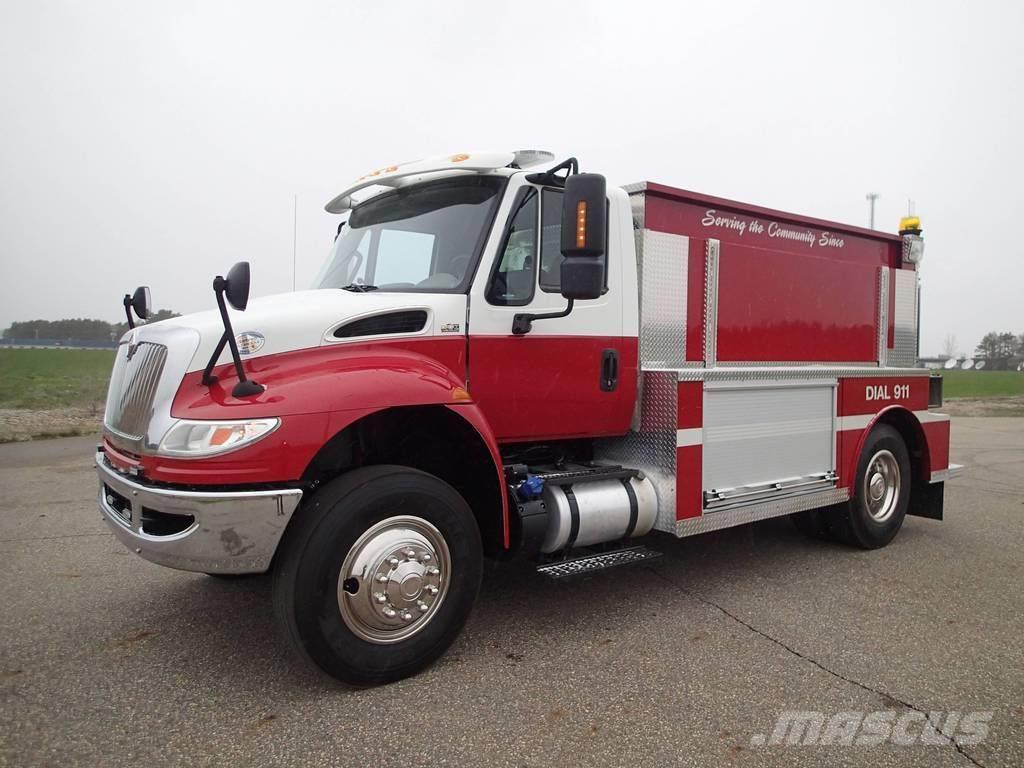 International Tanker Fire Truck