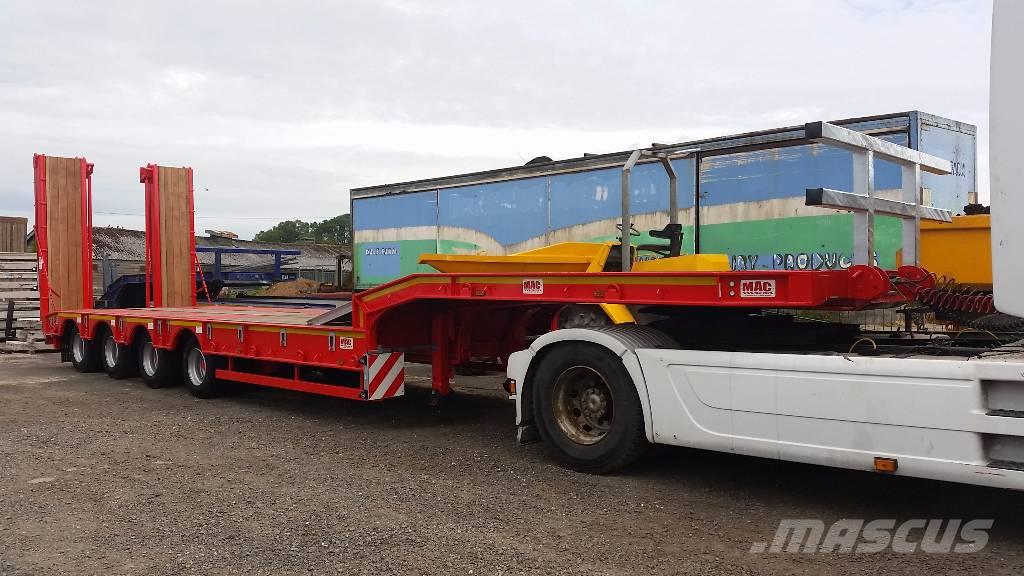 MAC 4 Axle Step Frame Low Loader