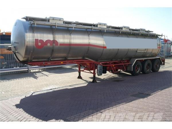 Burg 3 AXLE TANK TRAILER