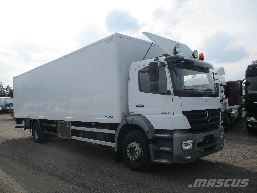 Mercedes-Benz AXOR 1824 alukasse/lift
