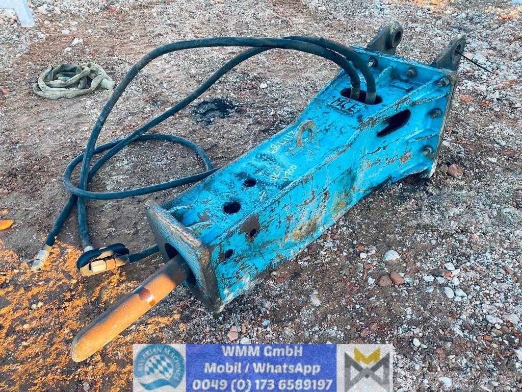 MSB Abbruchhammer MSB 400, für Bagger von 10-15to
