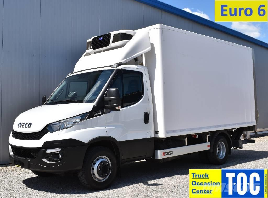 Iveco Daily 70C17 Euro6 Kühlkoffer LBW Carrier