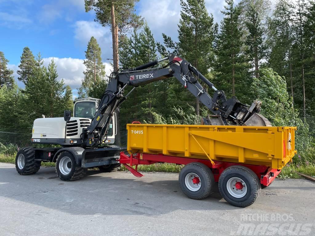 Terex TW 110 hjulgrävare all utrustning