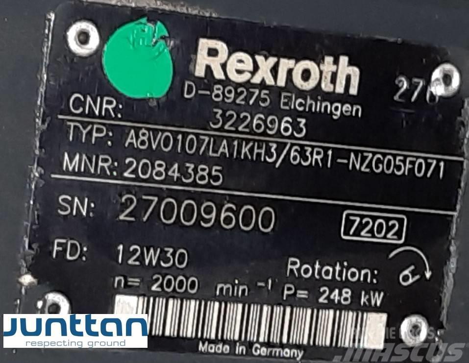 Rexroth hydraulic pump A8VO107LA1KH3