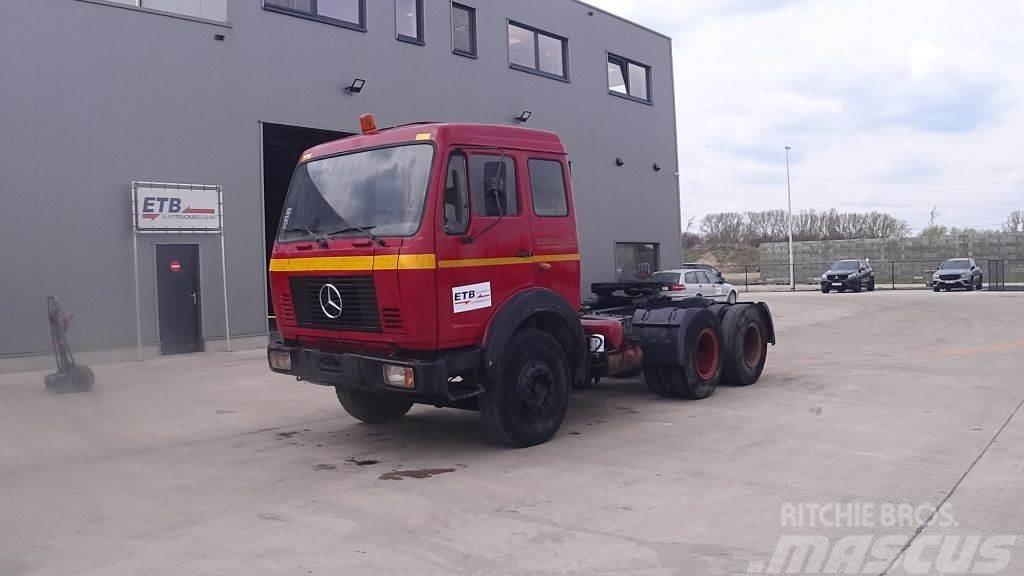 Mercedes-Benz SK 2226 (SUSPENSION LAMES / V8 MOTEUR / 10 ROUES /