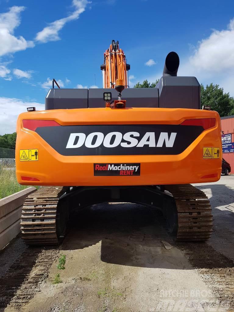 Doosan DX 420 LC-5, Uthyres