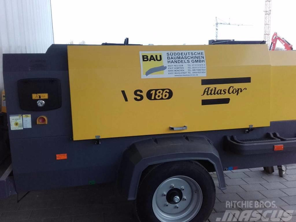 Atlas Copco Atlas Copco Kompressor XAVS 186 Jd N/W/PD