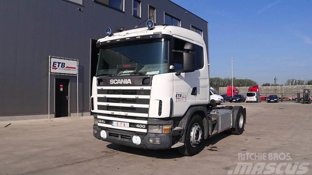 Scania 124 - 360 (POMPE MANUELLE / BOITE MANUELLE)