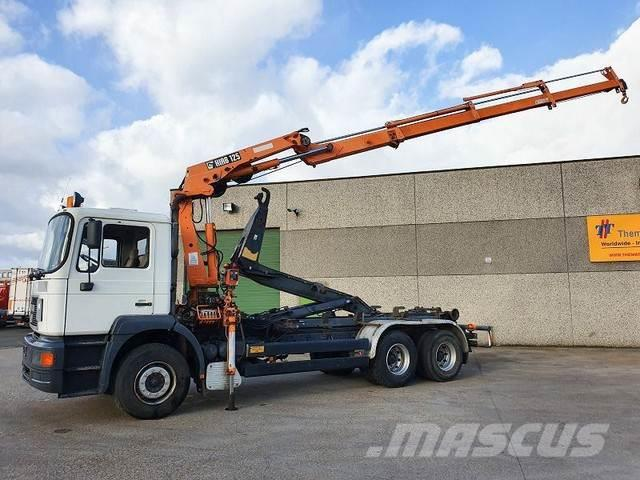 MAN 26.293 6x4 containersysteem-haaksysteem