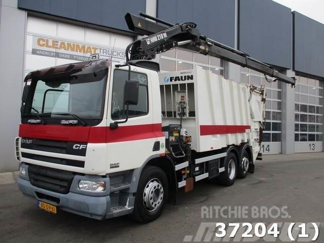 DAF FAN 75 CF 250 Hiab 21 ton/meter laadkraan