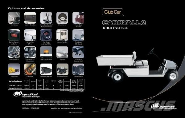 Club Car Carryall 2 Electric IQ Plus System