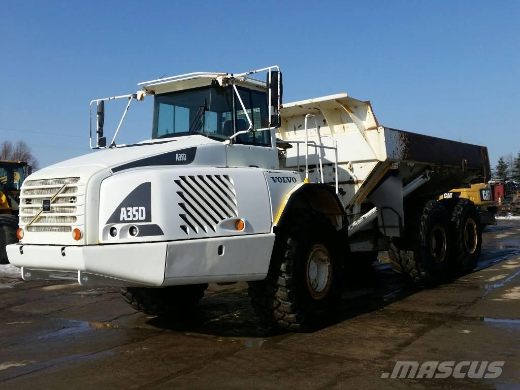 used volvo a35d articulated dump truck (adt) year: 2004 price