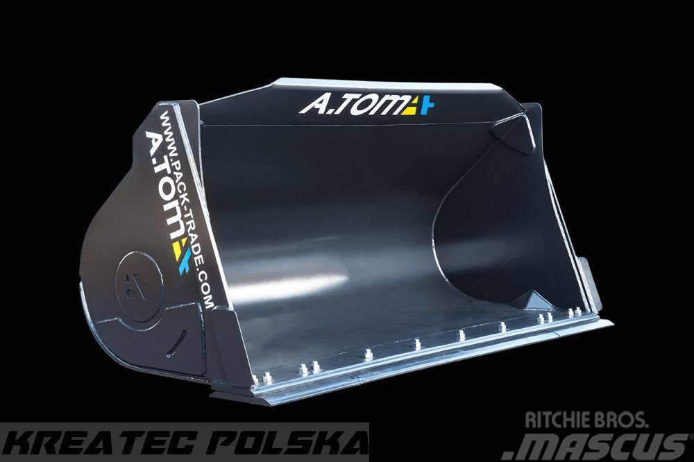 Atom Bucket for front loader,łyżka do ładowacza czołowe