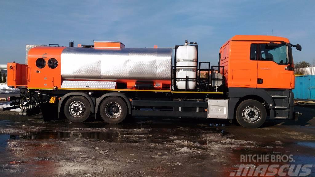 Strassmayr Bitumenvorspritzmaschine TS X000 CV