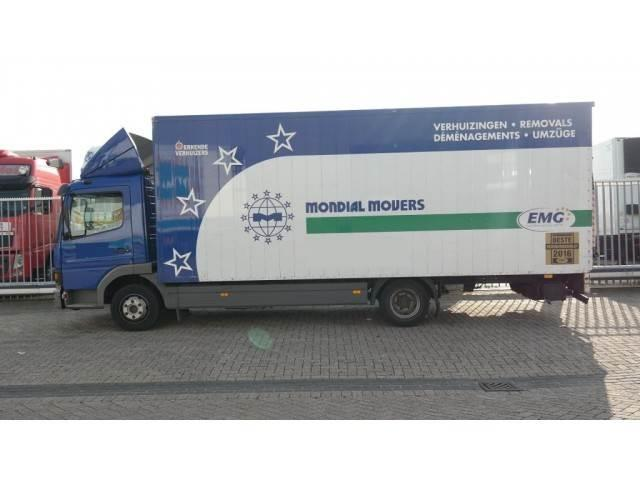Mercedes-Benz ATEGO 815 CLOSED BOX MANUAL GEARBOX 328000KM