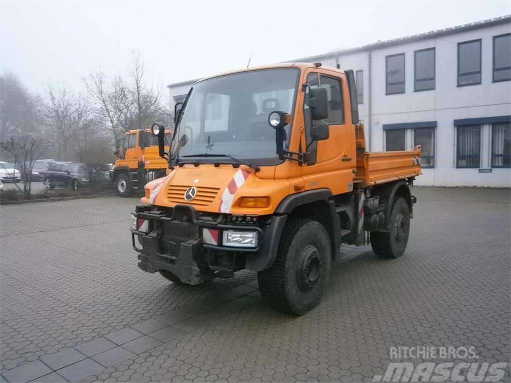 Used Mercedes-Benz Unimog U 400 utility tool carriers Year ...