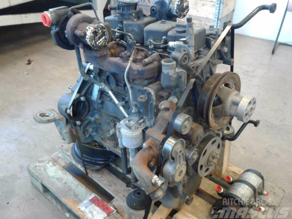 New Holland MH 3.6 komplett motor, hydraulpump