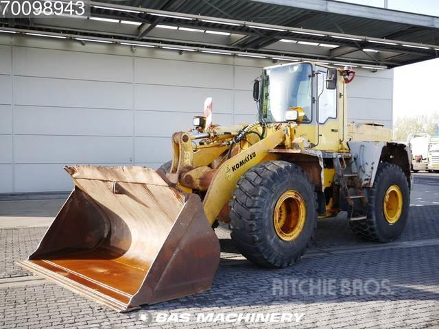 Komatsu WA 380 Good tyres