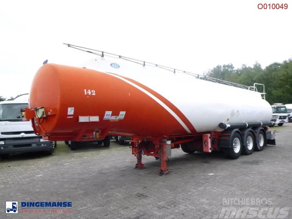 Indox Fuel tank alu 40.4 m3 / 6 comp
