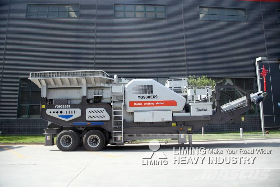 Liming YG1349E912 Station mobile de concasseur à mâchoire