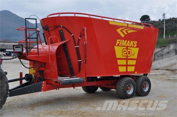 Fimaks Futtermischwagen 20m3 FMV 20 F/ feeding mix, 2017, Mixer feeders