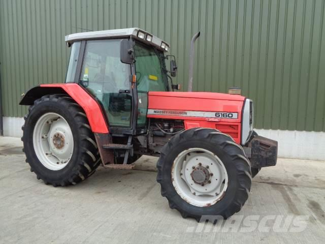 Massey Ferguson 6160 4wd tractor